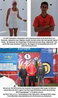 3D-Minifiguren für U16-Turniersieger des Tennis Jugend Cups 2014