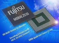 Fujitsu stellt SoC-Baustein für die HEVC-HD-Decodierung in Multimedia-Anwendungen vor