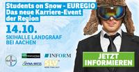 Wirtschaftsregion Aachen: Eiskalt Karriere machen auf der innovativsten Karrieremesse in der Euregio