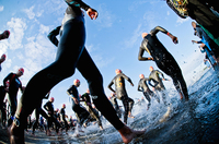 Top-Athleten beim Strandräuber IRONMAN 70.3 Rügen