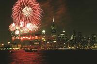 Größtes Feuerwerk in der Geschichte Chicagos: erstes Great Chicago Fire Festival am 4. Oktober 2014