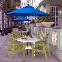 Robuste Polywoodmöbel für Gastronomie und Hotels