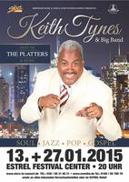 KEITH TYNES & BIG BAND am 13. und 27.01 2015 im Estrel Berlin