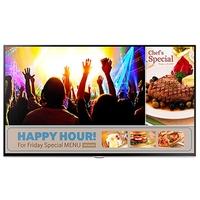 Samsung Smart Signage Info Displays für Werbepräsentationen