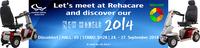 Shoprider Pressekonferenz auf der REHACARE 2014