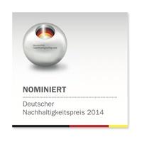 AQUAFIL nominiert für den Deutschen Nachhaltigkeitspreis 2014