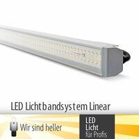 LED-Lichtbandsystem - optimale Beleuchtung - einfache Montage