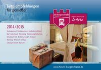 Neue Genießer-Broschüre der Burgenstraße Premium-Partner Hotels