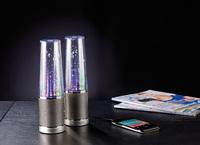 auvisio Design Wasserspiel-Lautsprecher, Lichteffekte, Metallgrill