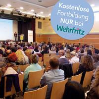 Therapie, Altenpflege, Geriatrie - kostenloser Fachtag der Wehrfritz GmbH