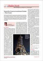 Deutsche Finance PERE Fund I unterzieht sich weiterer Analyse