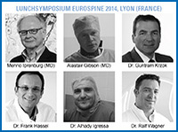 joimax® - The experts in minimally invasive endoscopic spinal surgery show flag at the EUROSPINE in Lyon
