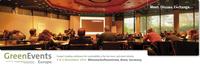 5. GreenEvents Europe Konferenz, 3. bis 4. Nov, 2014, Bonn