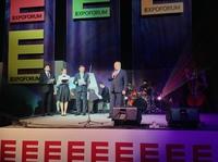 Neues Messegelände in St. Petersburg eröffnet:   Messe Düsseldorf berät ZAO ExpoForum und weitet Russlandgeschäft aus