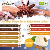 NEU! Winter-Eis-Genuss - Der BIO Handel verführt mit Helador!