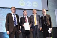 Bosch Thermotechnik: Brennstoffzellen-Heizungen erhalten f-cell Award