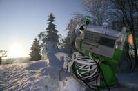 Mehr Schneesicherheit durch neue Technologie: Einsatz auch bei Plusgraden