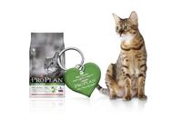 Für ein sicheres Katzenleben: der PRO PLAN ID-Anhänger als Gratiszugabe zum Kauf