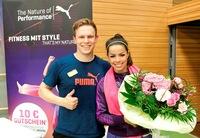 Teilnehmer und Sponsor Ben Förtsch vom Creativhotel Luise ist fittester Erlanger