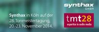 Synthax auf der Tonmeistertagung 2014: EVE Audio Demo Suite und klangvolle Produkte von RME, Mogami, IsoAcoustics, MicW