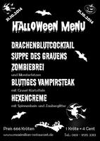 Monsterhaft-schauriges Halloween-Menü im Restaurant Maximilian in Frankfurt
