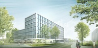 Das Regensburger Innovationszentrum (IZR) feiert Richtfest