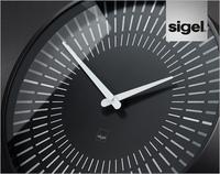 Design-Wanduhren artetempus® von Sigel - zeitgemäßes Design in Raum und Zeit.