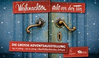 Adventsausstellung für Floristik in Erfurt 2014