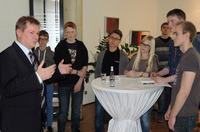 Dr. Markus Pieper, EU-Abgeordneter zu Gast beim Weltmarktführer für mobile Wägesysteme