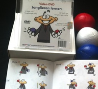"Video-DVD ""Jonglieren lernen"" - Gehirntraining das Spaß macht"