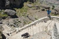 Äthiopienhilfe: Eine Treppe für Wusha Gedel