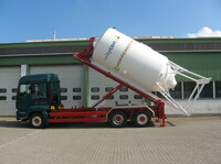 Neuer Combilift auch für Euro 6 Lkw geeignet