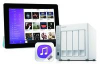 Streaming to go: Musik vom QNAP NAS direkt aufs iPad