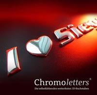 3D-CHROMOLETTERS: Die eigene Identität betonen