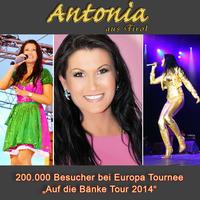 Antonia aus Tirol: 200.000 Besucher bei Europa Tournee 2014