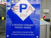 Internationales Qualitätssiegel für Düsseldorfer Parkhaus