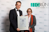GRÜN Software AG feiert 25-jähriges Firmenjubiläum mit Festakt