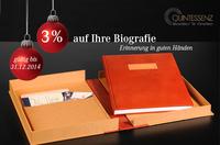 Quintessenz Manufaktur für Chroniken startet Weihnachtsaktion