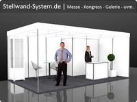 Stellwand System für Messen und Ausstellungen