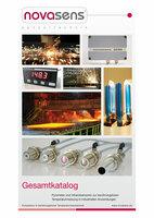 Neuer novasens Katalog liefert Überblick über Pyrometer und Temperatursensoren zur berührungslosen Temperaturmessung