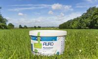 Weltneuheit auf der BAU 2015: AURO Premium-Wandfarbe Plantodecor® mit einzigartigem biogenen Bindemittel