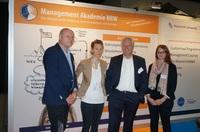 TrainerInnen beim Competence Challenge der Management Akademie NRW