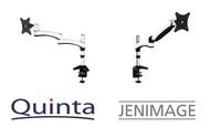 Für mehr Ergonomie am Arbeitsplatz: JENIMAGE Monitorhalterungen