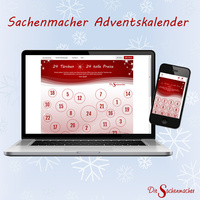 24 Türchen, 24 Chancen - der Sachenmacher-Adventskalender