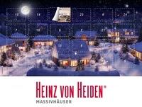 Hochwertige Geschenke warten im Heinz von Heiden-Adventskalender