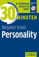 """Buchankündigung: """"30 Minuten Personality"""" von Ben Schulz"""