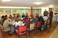 Russische Delegation in der Robert Janker Klinik Bonn
