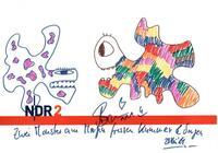NDR 2 versteigert Zeichnungen von Stars / NDR Fernsehen zeigt Porträts von Menschen mit Multipler Sklerose