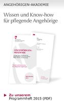 Angehörigen Akademie Berlin - Neues Programm 2015