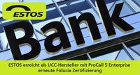 ESTOS erhält Fiducia Zertifizierung für ProCall 5 Enterprise